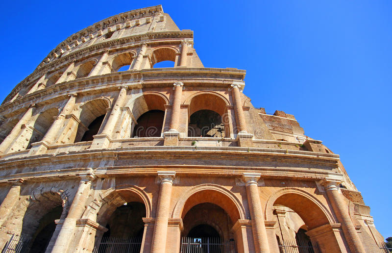 Download Colosseum-Kolosseum in Rom stockbild. Bild von amphitheater - 96933885