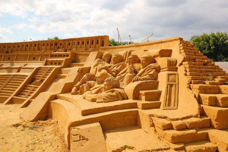 Colosseum Milvani, Steiger, Molokov, Gryadov, Fedotov, Torkhov stock afbeeldingen