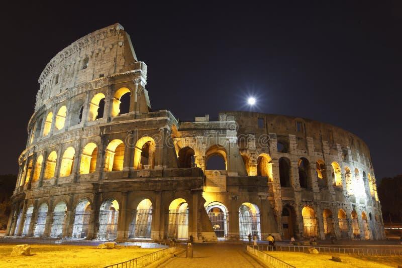 colosseum noc obraz royalty free