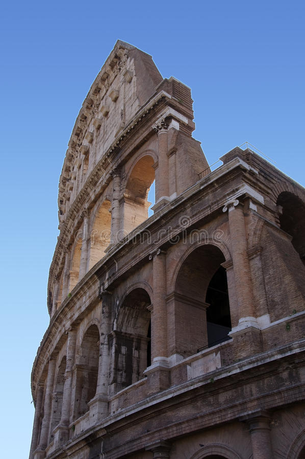 Colosseum in Rom stockfotos