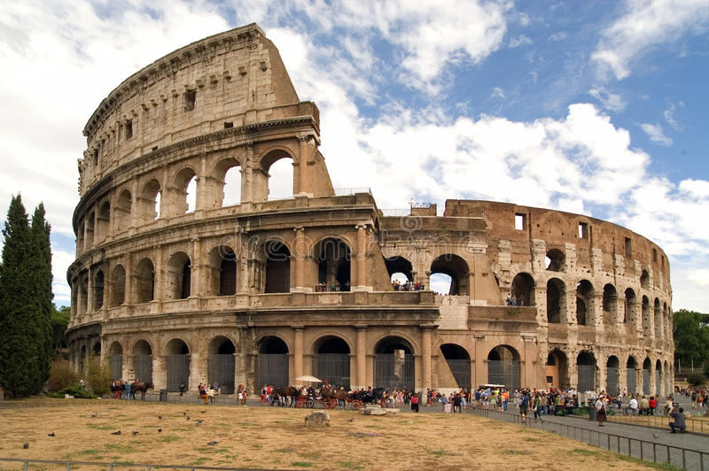 Colosseum Rom stockfotos