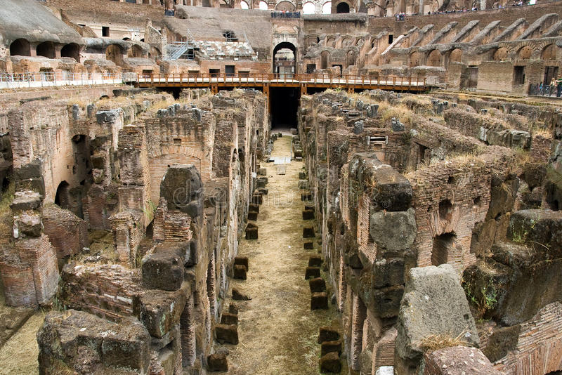 Colosseum in Rom, Italien stockbild