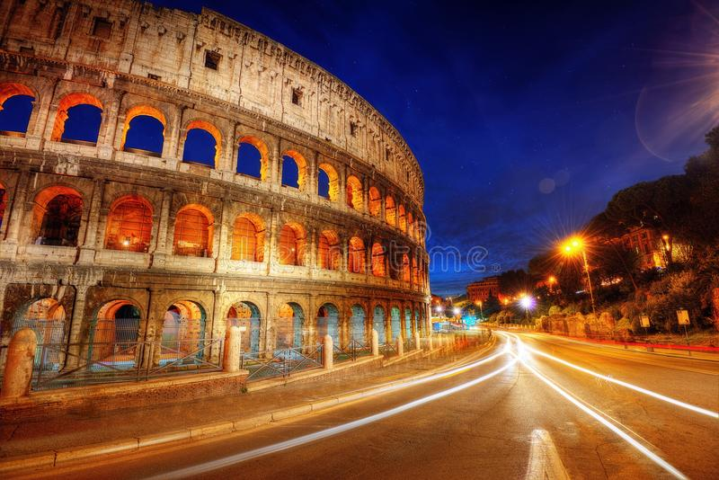 Colosseum Roma foto de archivo libre de regalías