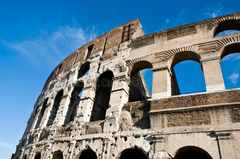 Download Colosseum - Roman Arches In Stone Stock Image - Image: 8440537