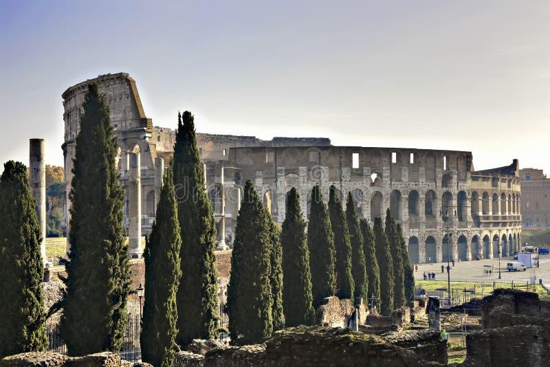 colosseum roman rome fotografering för bildbyråer