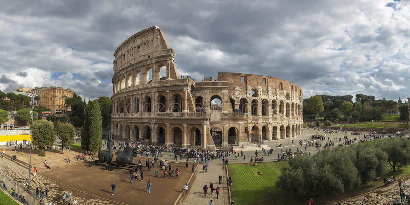 Colosseum romano immagine stock libera da diritti