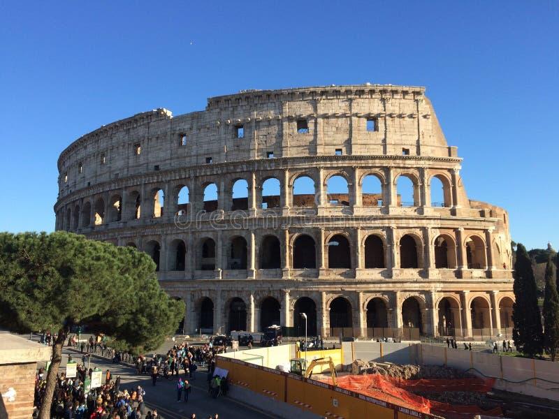 Colosseum romano fotografia stock libera da diritti