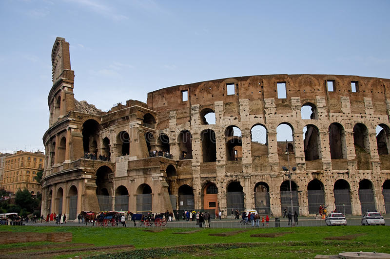 Colosseum in Rome stock fotografie