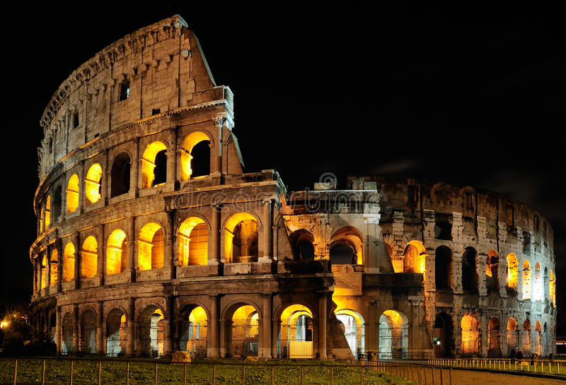 Colosseum, Rome Stock Image. Image Of Imperiali, Hill