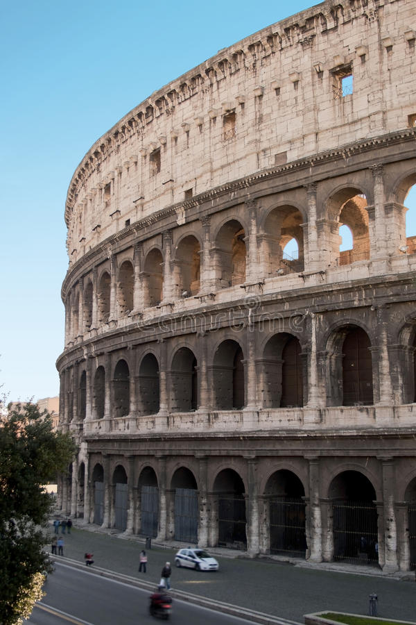 Download The Colosseum in Rome stock image. Image of panoramic - 18172319