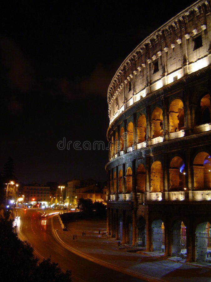 Colosseum in Rome royalty-vrije stock foto