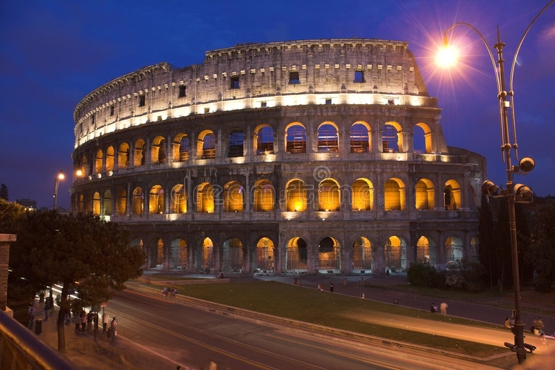 Colosseum - Rome royalty-vrije stock fotografie