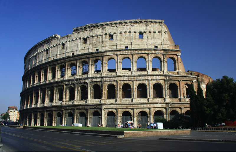 Colosseum, Rome royalty-vrije stock fotografie