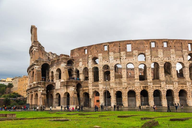 Colosseum in Rome, Italië royalty-vrije stock foto