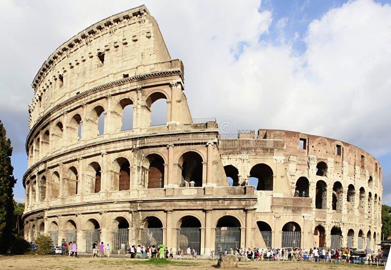 Colosseum in Rome, Italië royalty-vrije stock foto's
