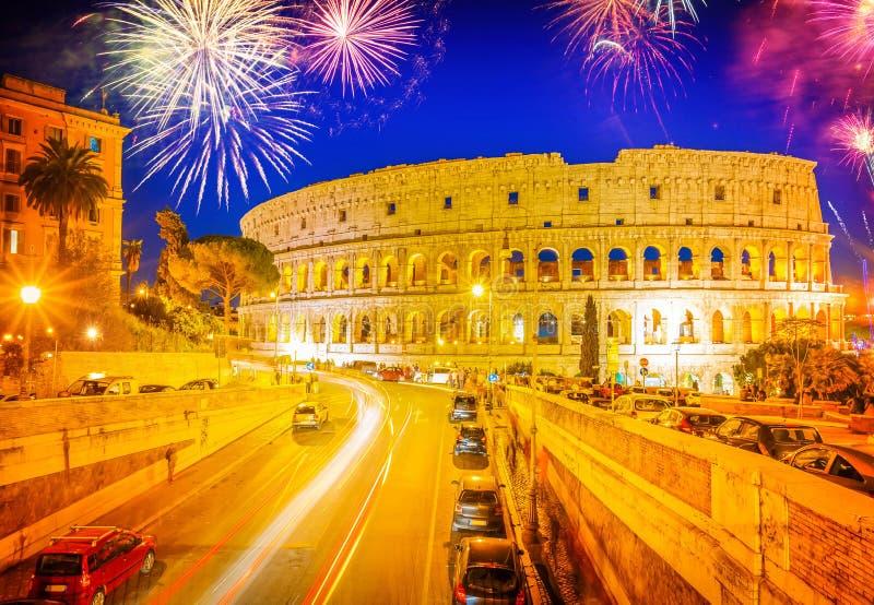 Colosseum in Rome, Italië royalty-vrije stock afbeelding