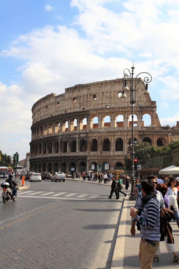 Colosseum, Rome, Italië royalty-vrije stock foto