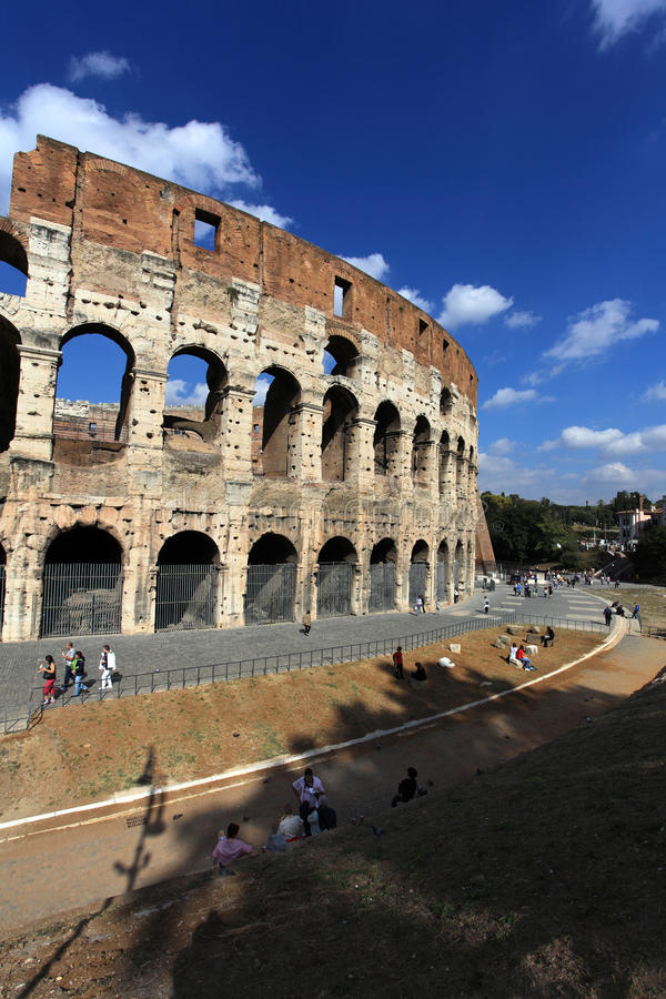 Colosseum, Rome, Italië stock foto's
