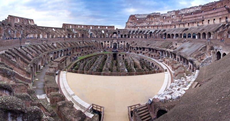Colosseum in Rome, Italië stock foto's