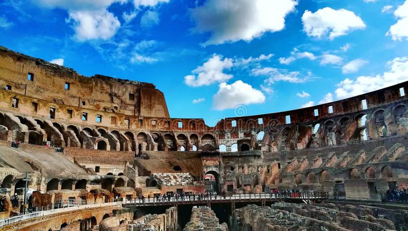 Colosseum in Rome Itali stock foto