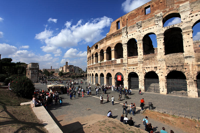 Colosseum,Rome,Italy royalty free stock photography