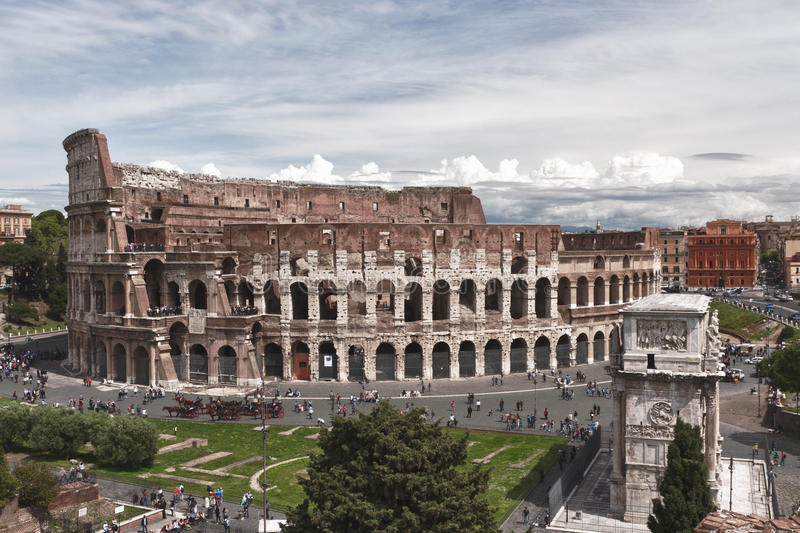 Download The Colosseum In Rome, Italy Royalty Free Stock Image - Image: 26599906