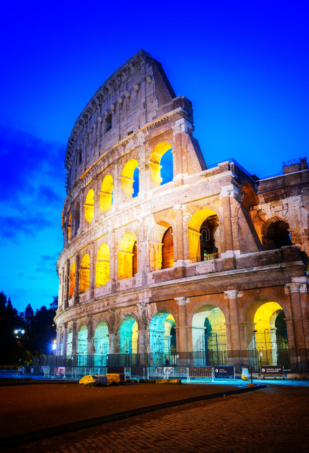 Colosseum in Rome, Italy royalty free stock photo