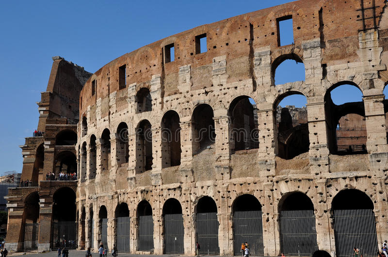 Colosseum Rome stock images