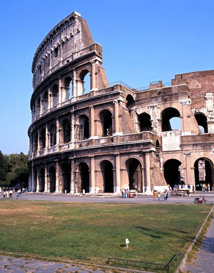 The Colosseum, Rome. stock photo