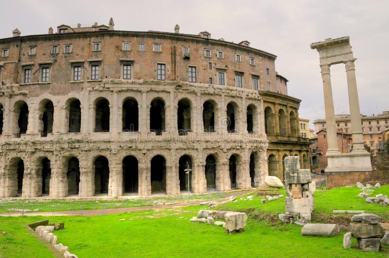 Colosseum Ruine der Rom-Stadt lizenzfreie stockfotografie