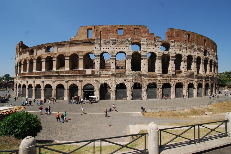 Colosseum, Colosseum, Rzym, Colosseum, punkt zwrotny, historyczny miejsce, antyczny Rome, amphitheatre zdjęcie royalty free