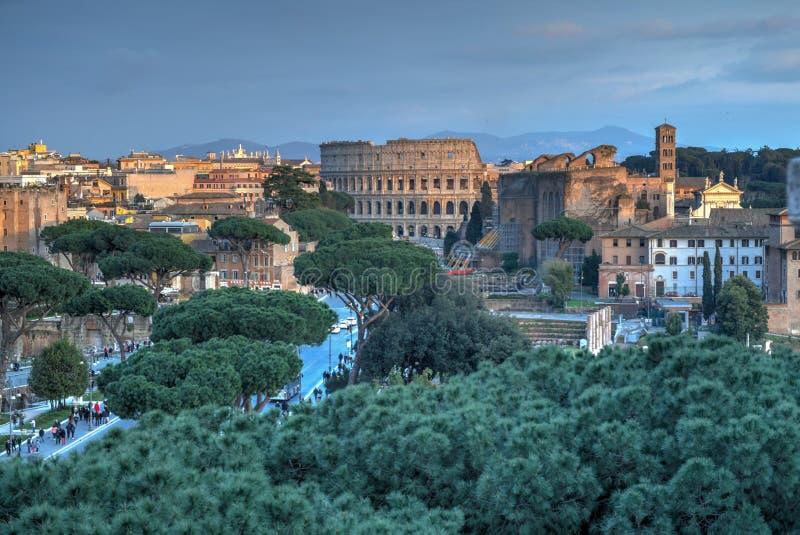Colosseum, Rzym -, Włochy zdjęcia stock