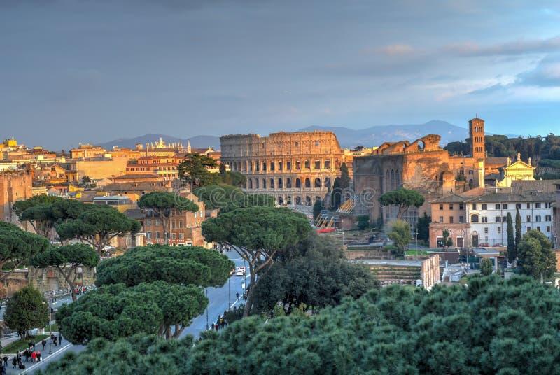 Colosseum, Rzym -, Włochy zdjęcie stock