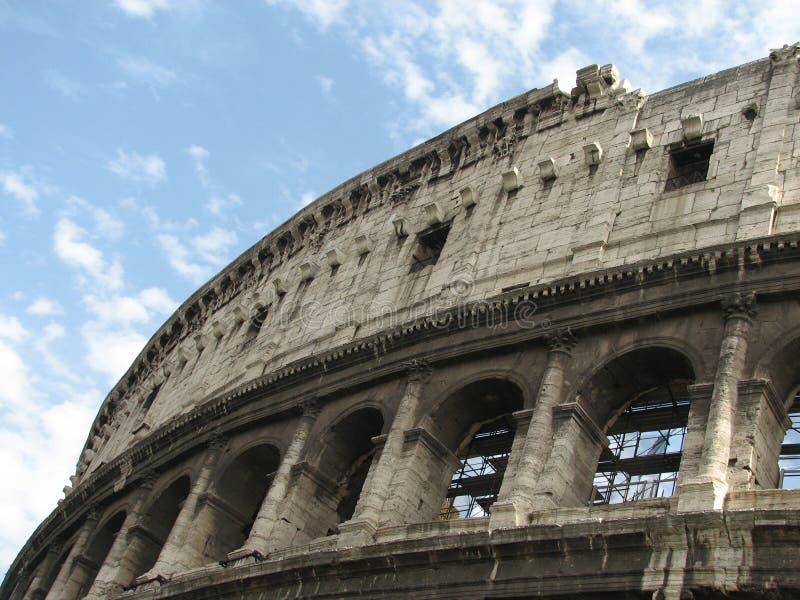 colosseum sławny Italy najwięcej miejsca Rome widok zdjęcia stock