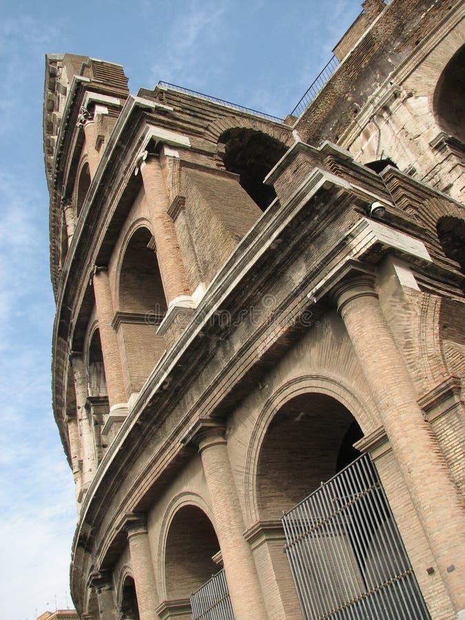 colosseum sławny Italy najwięcej miejsca Rome widok obraz royalty free