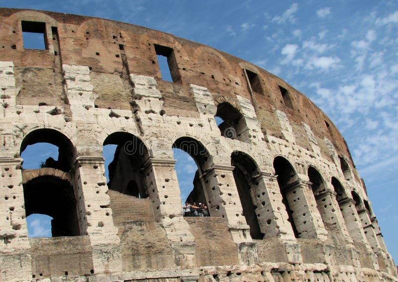 colosseum sławny Italy najwięcej miejsca Rome widok zdjęcie stock