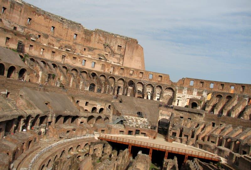 colosseum sławny Italy najwięcej miejsca Rome widok zdjęcia royalty free