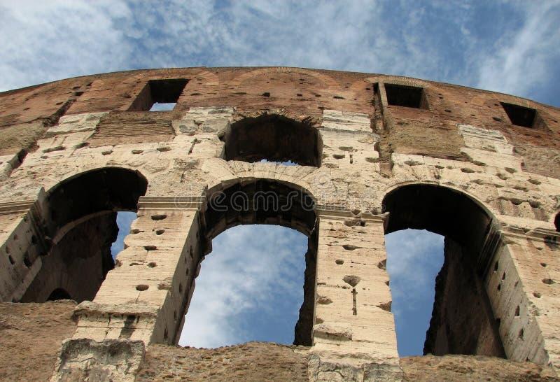 colosseum sławny Italy najwięcej miejsca Rome widok zdjęcie royalty free