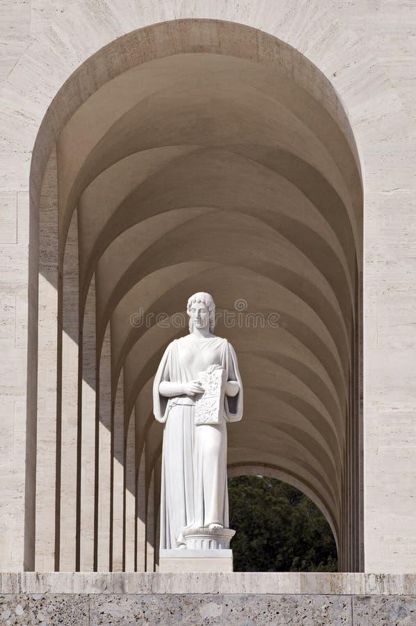 colosseum szczegół Rome obciosujący zdjęcie stock