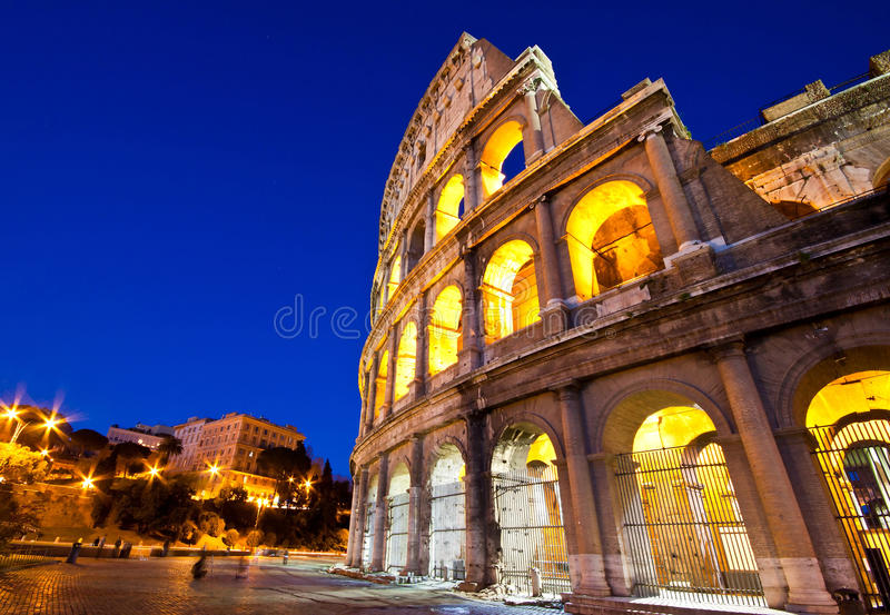 Download Colosseum at twilight stock photo. Image of huge, amphitheater - 25861652