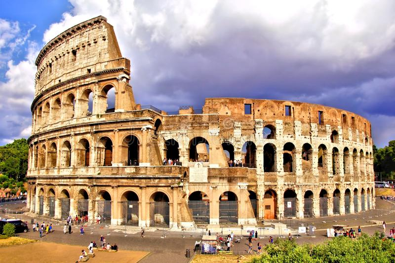 Colosseum van Rome royalty-vrije stock afbeelding