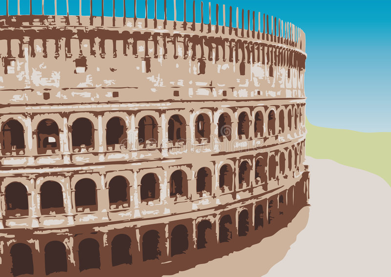 Download Colosseum (vector) Royalty Free Stock Photos - Image: 9128758