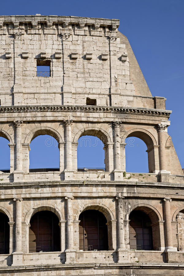 Download The Colosseum, The World Famous Landmark In Rome Stock Image - Image: 27515587