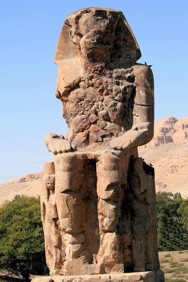 Colossi de Memnon 2 imagem de stock royalty free
