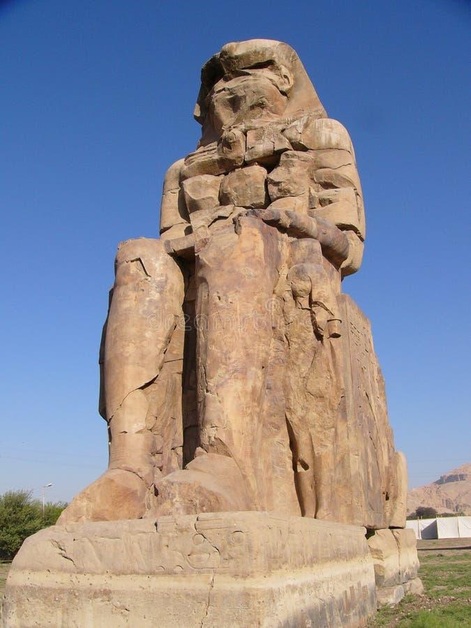 Colossi de Memnon   fotos de stock royalty free