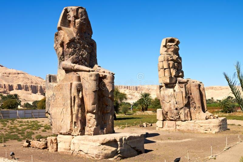 Download Colossi of Memnon stock image. Image of architecture - 22056123