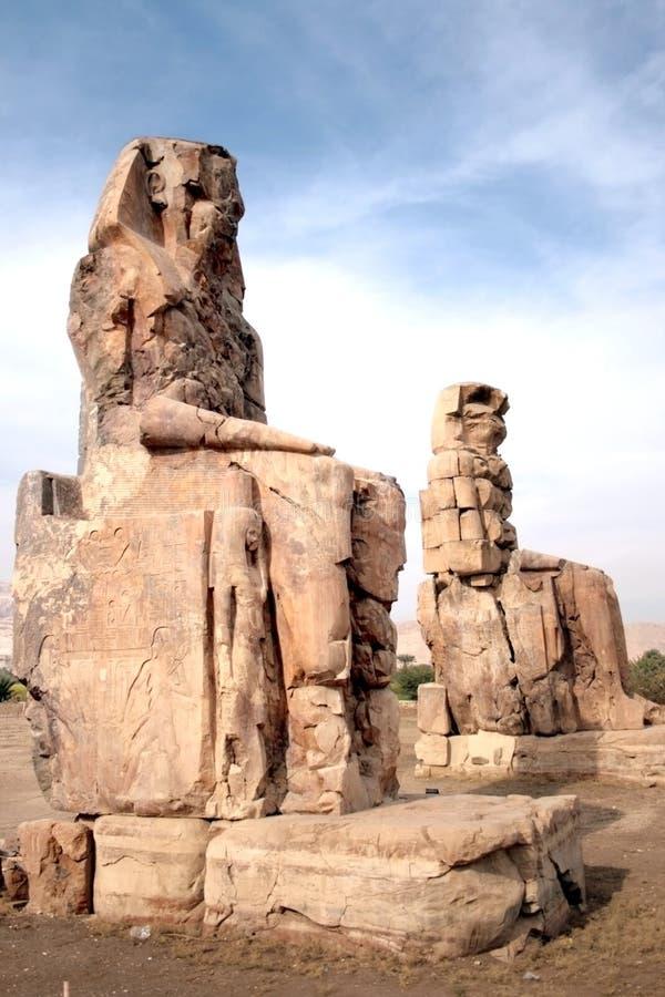 Download Colossi of Memnon stock photo. Image of egypt, kingdom - 7934974