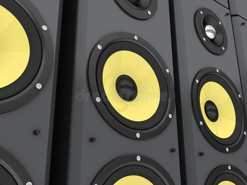Download Coloumn Music Royalty Free Stock Image - Image: 19792586