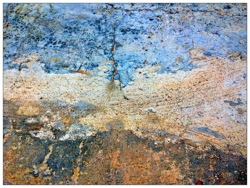 Colour ściana obrazy stock