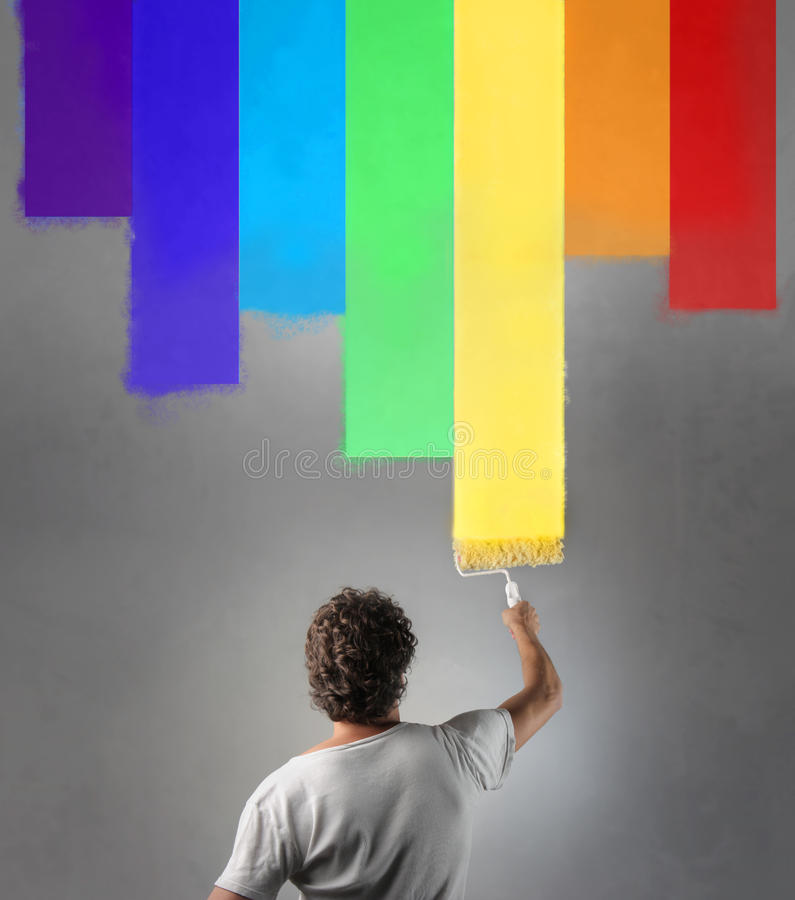 Colour royalty free stock image